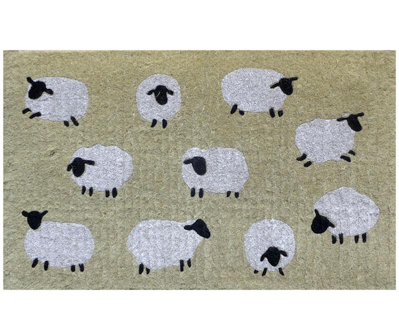 Woolly Sheep Doormat - Regular