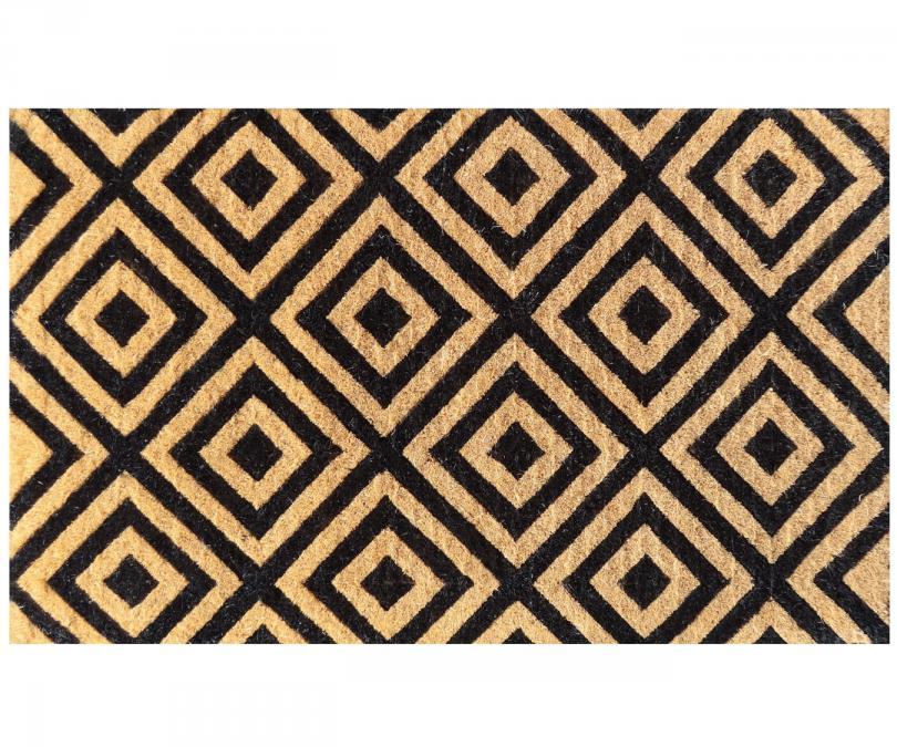 Classic Diamond 100% Coir Doormat