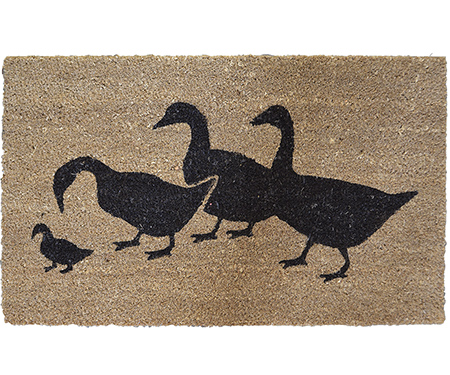 Ducks Doormat - Vinyl Backed