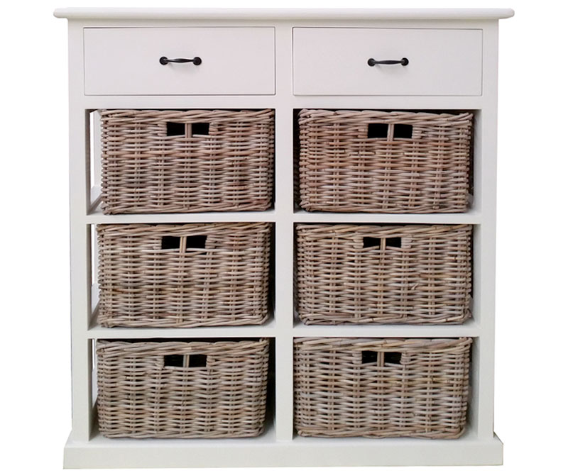 Chiswick Tallboy with 6 Baskets