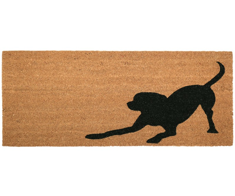 Playful Dog Long Doormat