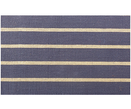 French Blue Stripe Indoor Mat