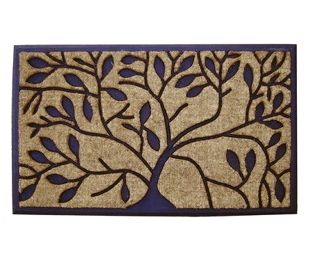 Elm Regular Rubber & Coir Door Mat
