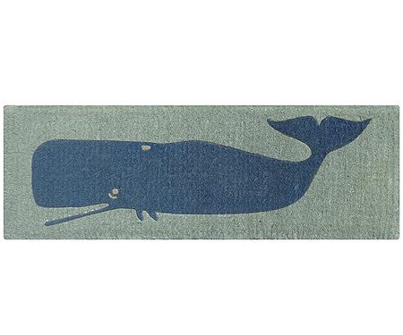 Whale Long Doormat