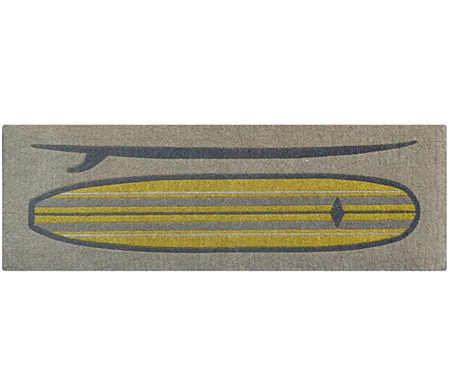 Surfboard Long Doormat