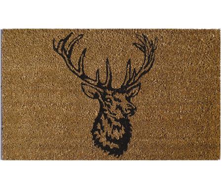 Stag Head Vinyl Backed Doormat
