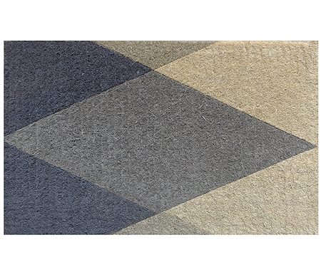 Grey Diamond Geo Doormat