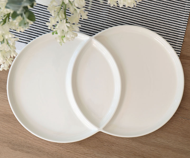 Loop White Serving.  sc 1 st  French Knot & Tableware available online - ships Australia wide.