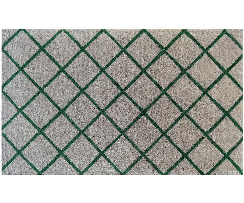 Green Trellis 100% Coir Doormat