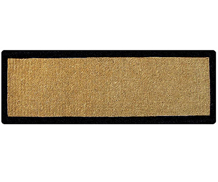 Black Border Long Doormat