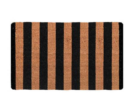Black Stripes - Regular Door Mat