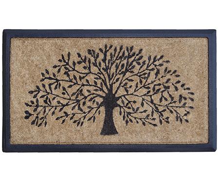 Tree of Life Coir & Rubber Regular Doormat
