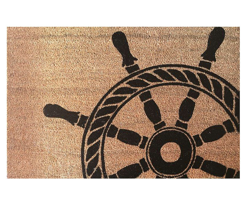 Ship's Wheel Regular Vinyl Backed Doormat
