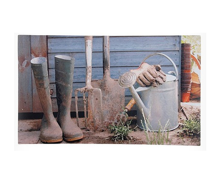 Garden Shed Rubber Door Mat