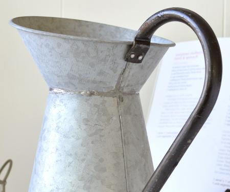 Zinc Pitcher Metal Jug Large Home Accessories And