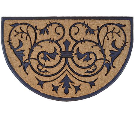 Giant Monarch Half Round Doormat 120x75cm
