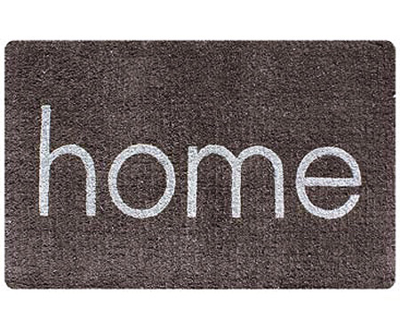Large Grey Home Doormat