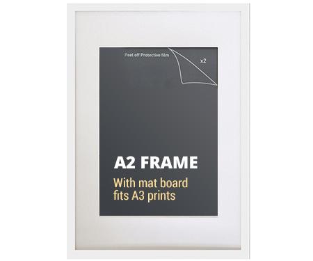 White Poster Frame 90x60cm Picture Frame