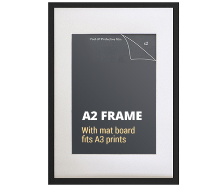 A2 Black Picture Frame