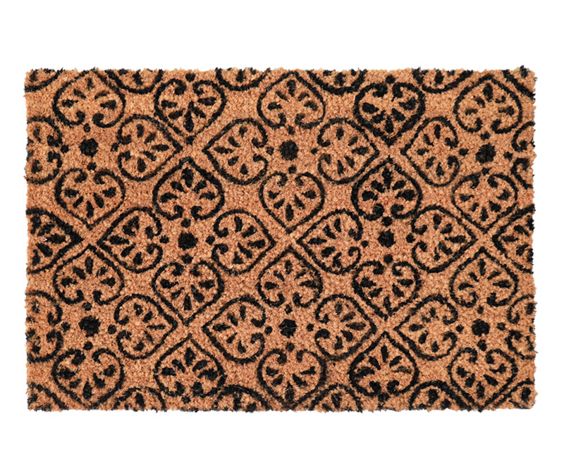 Quincy Floral Regular Vinyl Backed Doormat