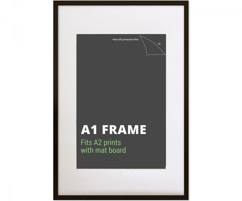 A1, poster and large print frames