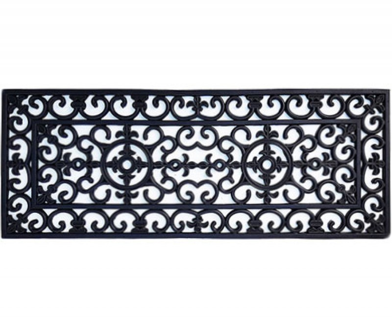 Long Brooklyn Rubber Doormat - 120x45cm