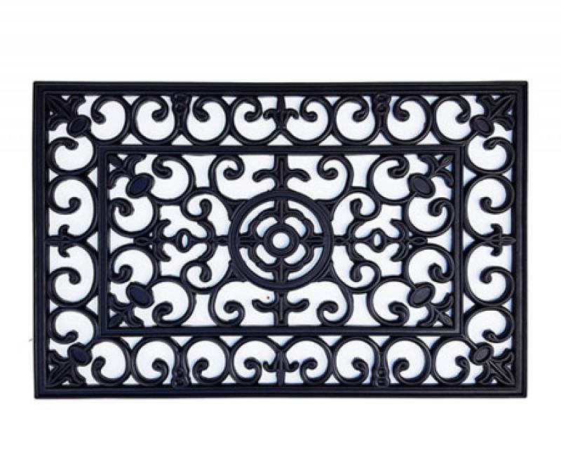 Brooklyn Rubber Doormat - 70x45cm