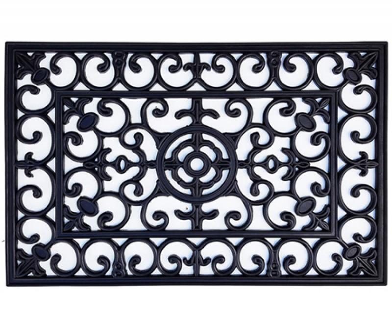 Large Brooklyn Rubber Doormat - 90x60cm