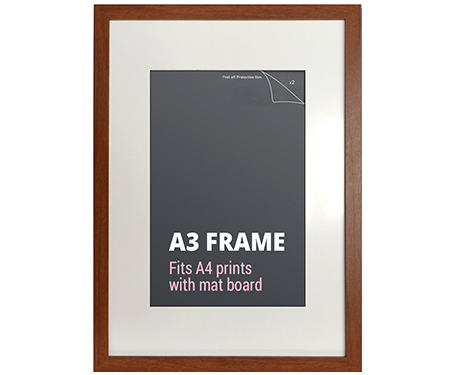 Box 12 A3 Walnut Picture Frames