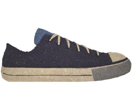 Blue Sneaker Vinyl Backed Doormat