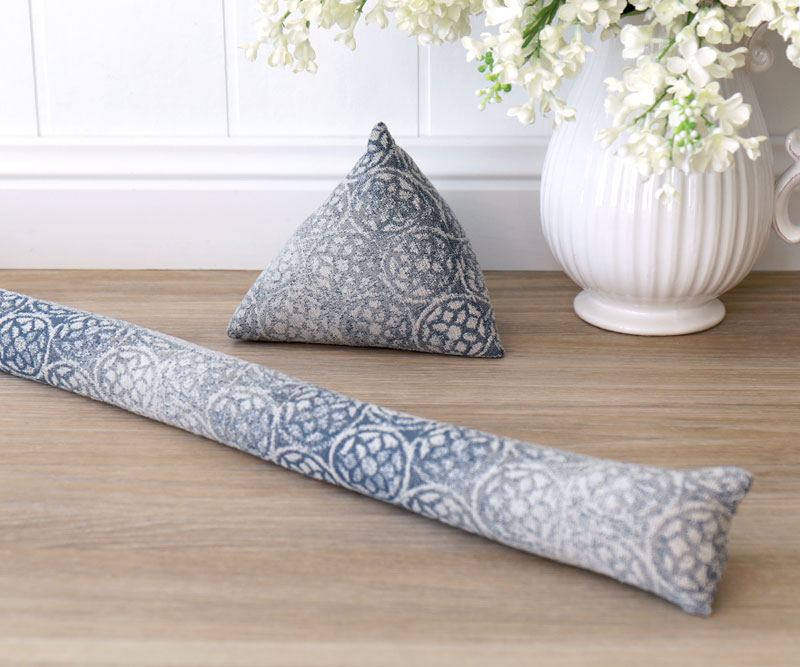 Chiara Dusky Blue. & Draught stoppers draft excluders and door snakes available online ...