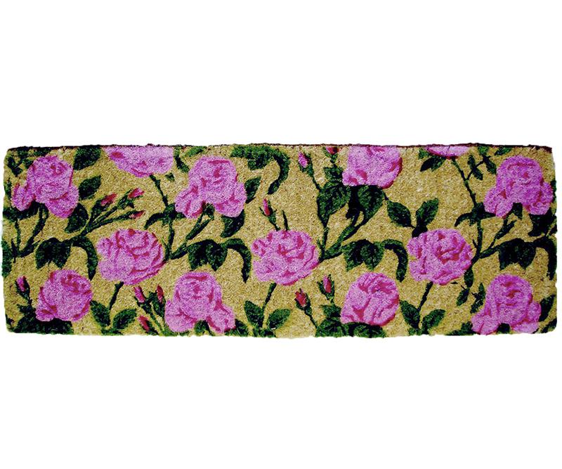Aurora Roses Long Doormat 100% Coir