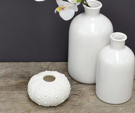 Porcelain Sea Urchin Vase
