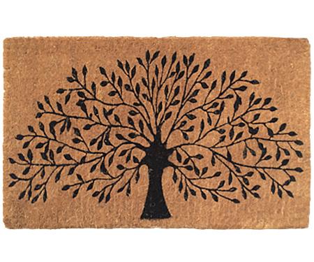 Tree of Life 100% Coir Regular Doormat