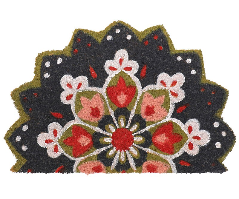 Mandala Half-Round Doormat - regualr