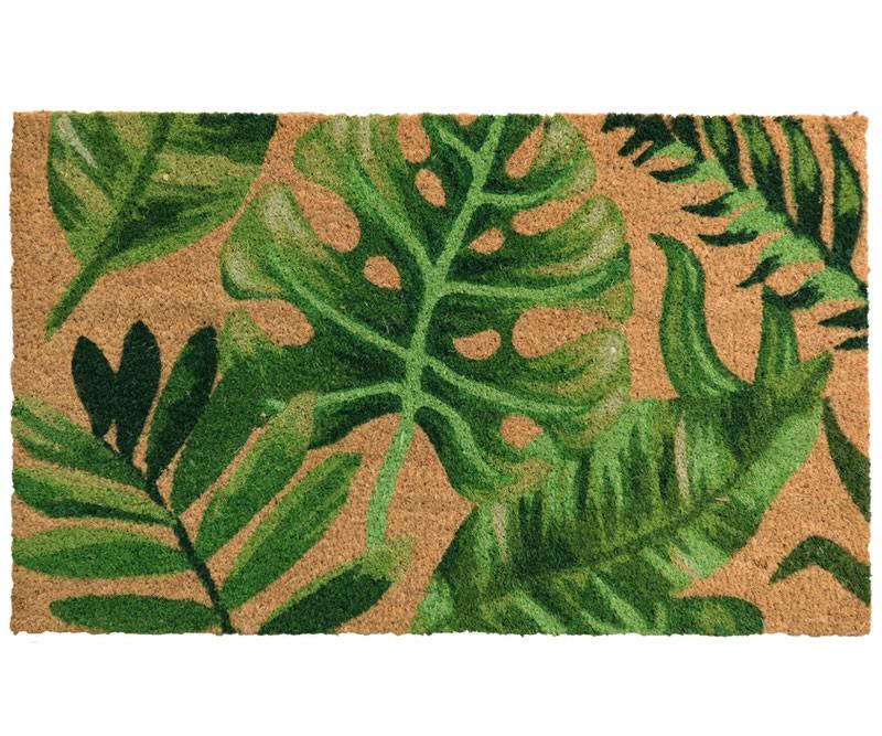 Tropical Leaves Regular Doormat