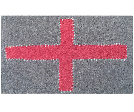 Red Cross Doormat - Regular