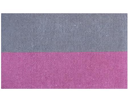 Half Pink Regular Doormat