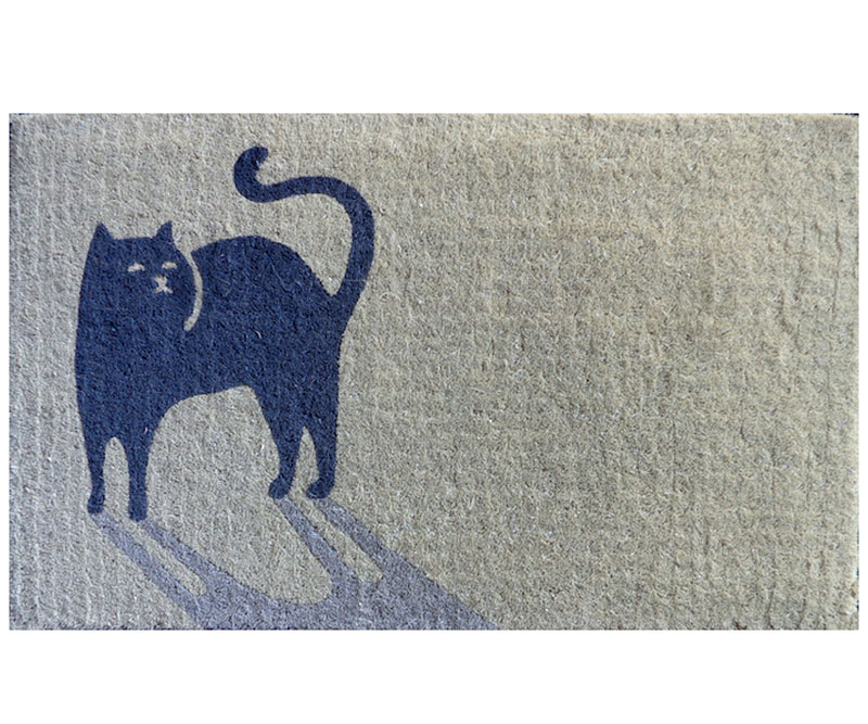 Shadow Cat Doormat - Regular