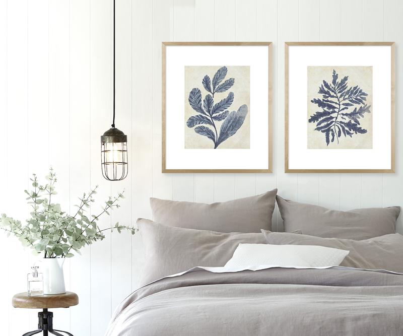 White Wood Tripod Floor Lamp Shade