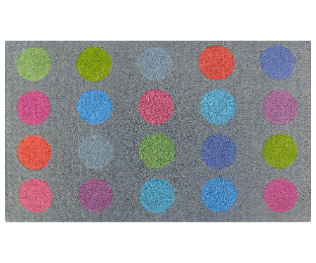 Bright Colour Spots Regular Door Mat