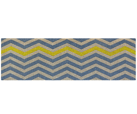 Bon Yellow Chevron Lon.